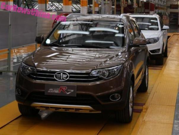 FAW Senya R7 SUV is Ready for China