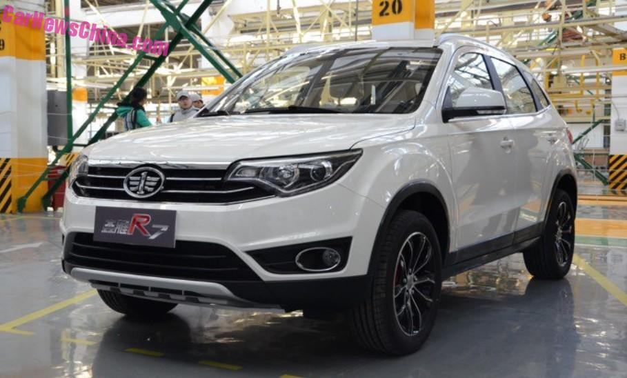 Faw Senya Suv Is Ready For China Carnewschina Com China