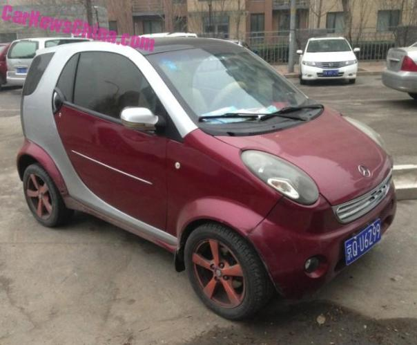 Shuanghuan Noble is a Mercedes-Benz Smart in China