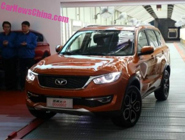 Cowin Auto X3 SUV is Ready for the Chinese auto market