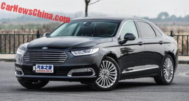 Ford Taurus launched on the Chinese car market