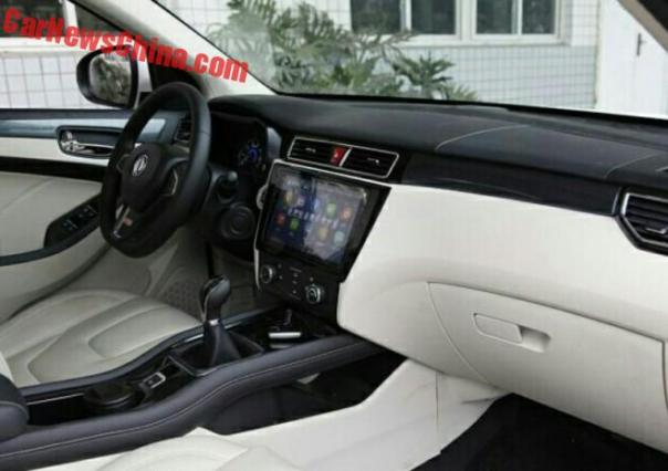 New Spy Shots of the Dongfeng Fengguang 580 SUV for China