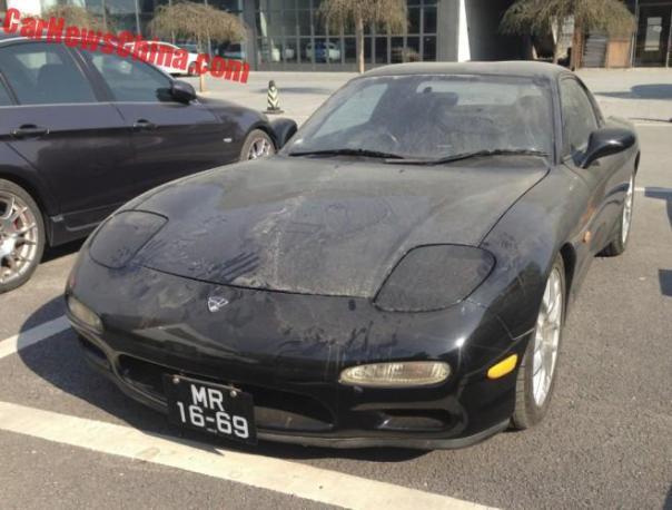 Spotted in China: Mazda ɛ̃fini RX-7