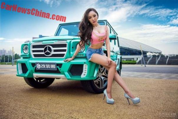 china-car-girl-g-class-5