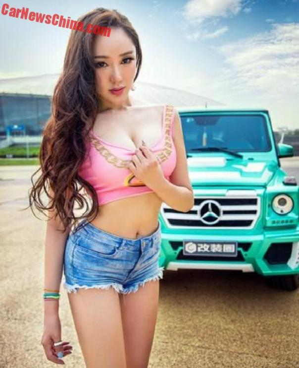 china-car-girl-g-class-7