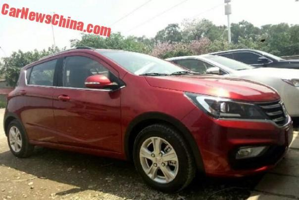 New Spy Shots of the Baojun 310 for China