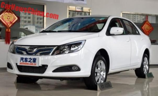 BYD e5 300 EV launched on the Chinese car market
