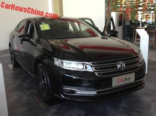 Eye to Eye with the Dongfeng Fengshen A9 in China
