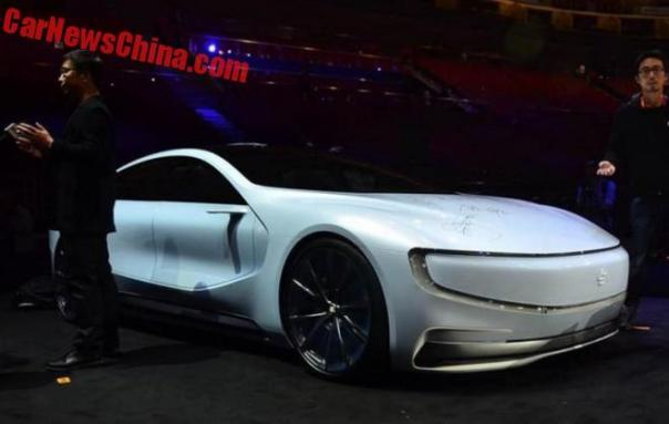 More Photos of the LeSee EV Tesla Killer from China