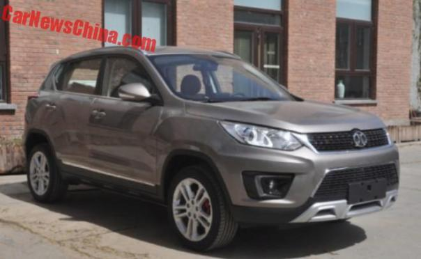 Spy Shots: the Beijing Auto Senova X35 SUV is Ready for China