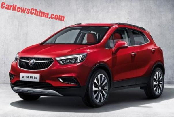 New Images Of The Facelifted Buick Encore
