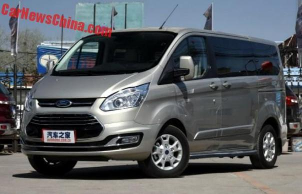 Ford Tourneo Launched On The Chinese Car Market