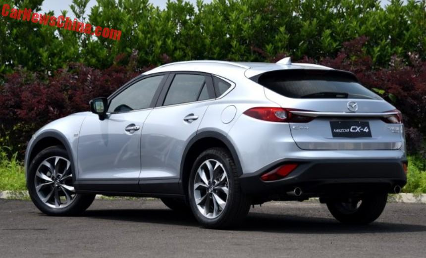 mazda cx-4 archives - carnewschina - china auto news