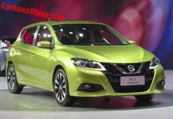 New Nissan Tiida Unveiled On The Beijing Auto Show
