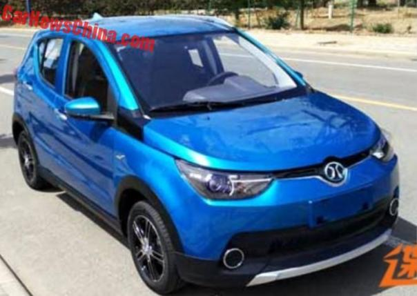 Spy Shots: Beijing Auto Working On Electric Mini Car For China