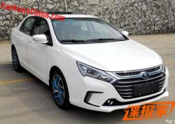 Spy Shots: Facelift For The BYD Qin In China