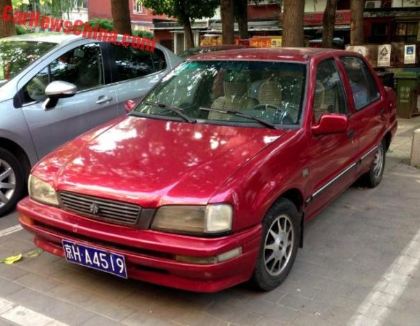 Spotted In China: Tianjin Xiali TJ7131UL