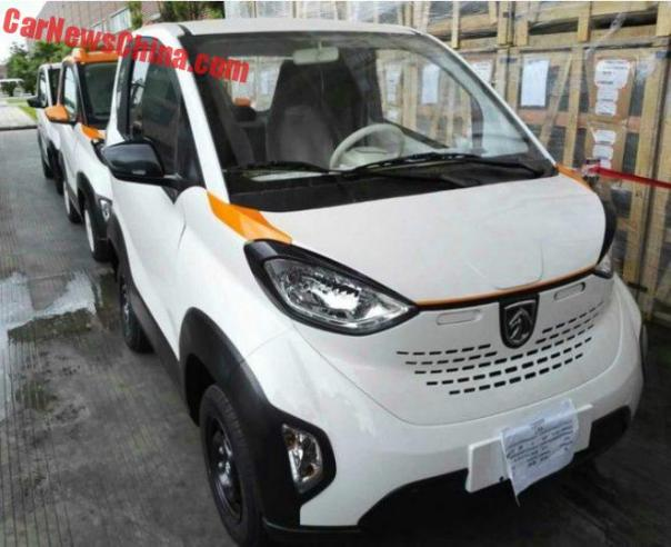 New Photos Of The Baojun E100 EV For China