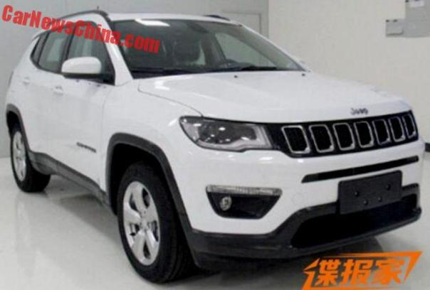 2017 Jeep Compass Is Naked In China