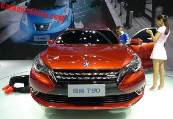 Venucia T90 Launched On The Chengdu Auto Show In China