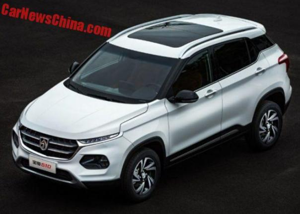 Officially Official: The New Baojun 510 SUV For China