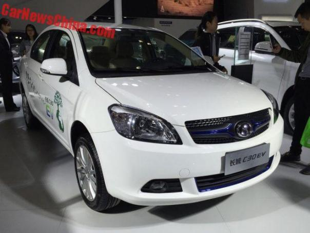 Great Wall C30 EV Hits The Chinese Car Market