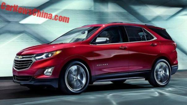 New Chevrolet Equinox Will Be Manufactured In China