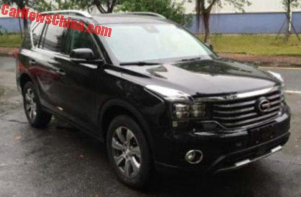 Spy Shots: This Is The New Guangzhou Auto Trumpchi GS7 SUV For China