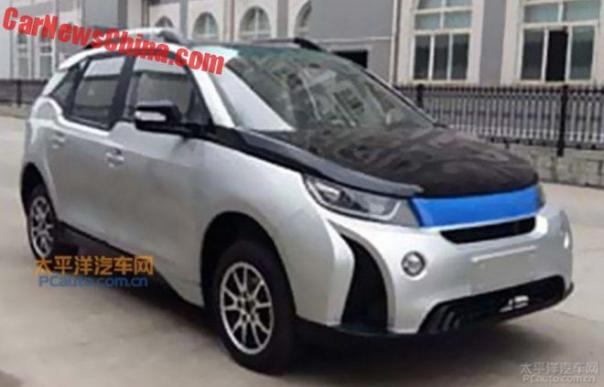 Clone Country: Yema Ripoffs The BMW i3 In China