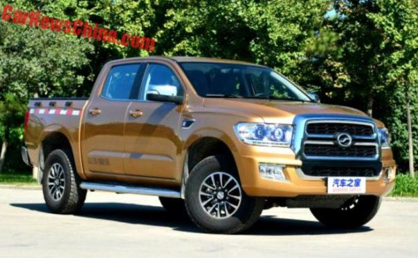 Zhongxing Terralord Pickup Truck Hits The Chinese Car Market