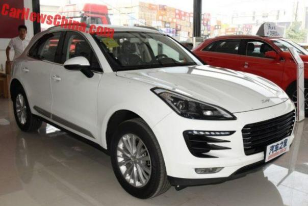 Zotye SR9 Porsche Macan Clone From China Will Launch On October 12