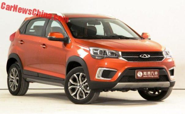 Chery Tiggo 3X Is Ready For The Chinese Car Market
