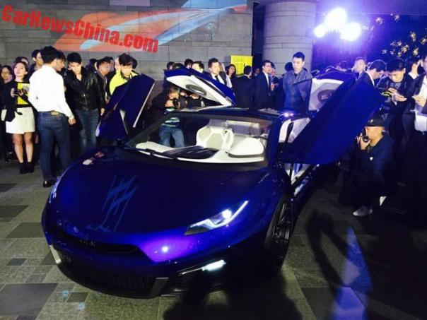 Green Lord Motors Invades Hong Kong With The GLM-G4 Electric Supercar