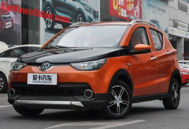 Beijing Auto EC180 EV Is Ready For The Chinese Car Market