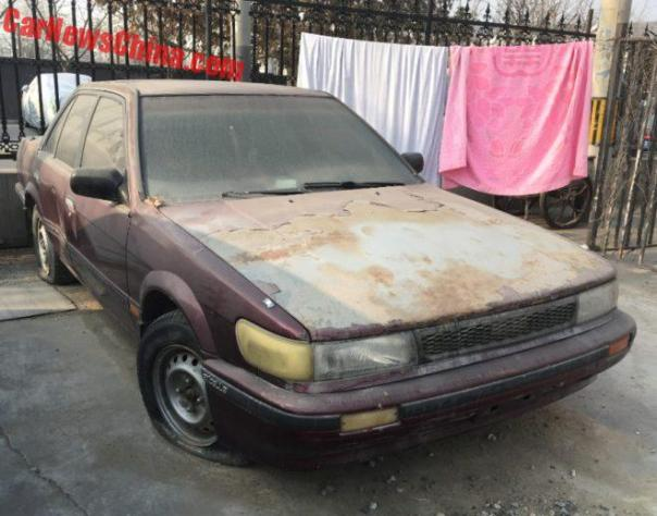 Spotted In China: U12 Nissan Bluebird 2.0 SE Saloon In Wine Red