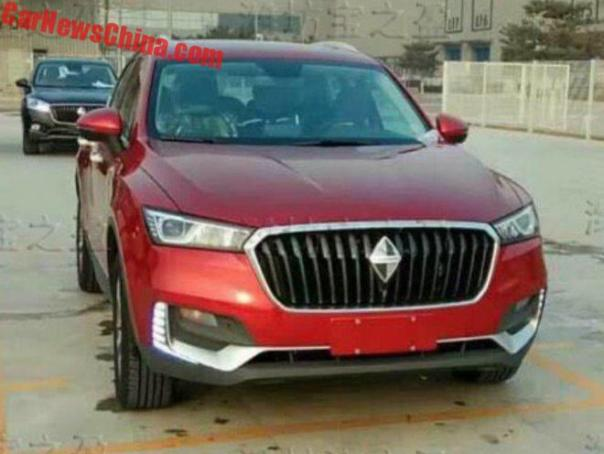 This Is The New Borgward BX5 For China