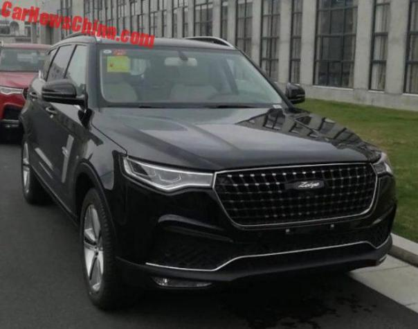 The Zotye T700 SUV Is Ready For The Chinese Car Market With An Amazing Digital Dash