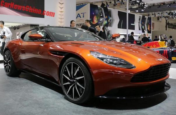 Aston Martin DB11 V8 To Debut On The Shanghai Auto Show In China