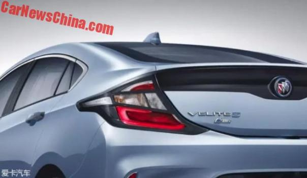Buick Turns The Chevrolet Volt Into The Velite 5 For China