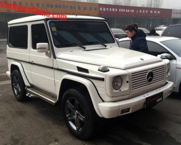Spotted In China: Brabus Mercedes-Benz G500 3-Door In White