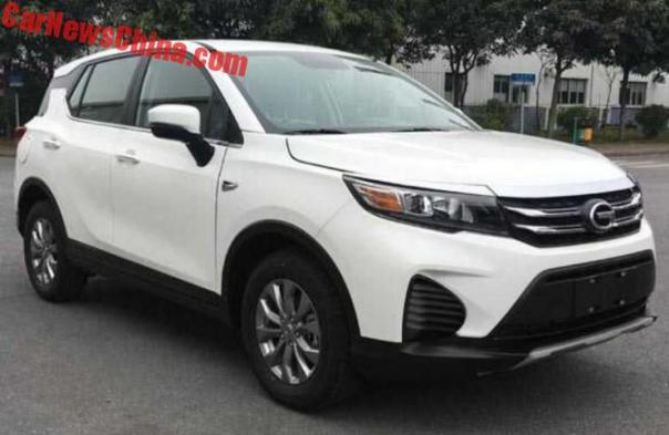 First Photos Of The New Guangzhou Auto Trumpchi GS3 SUV For China
