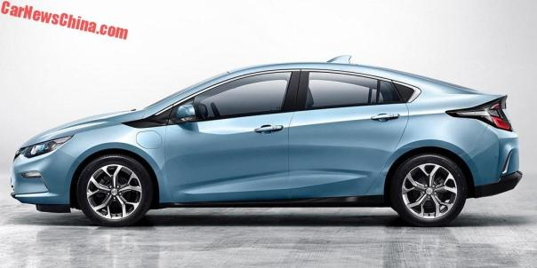 Official: Chevrolet Volt Becomes The Buick Velite In China