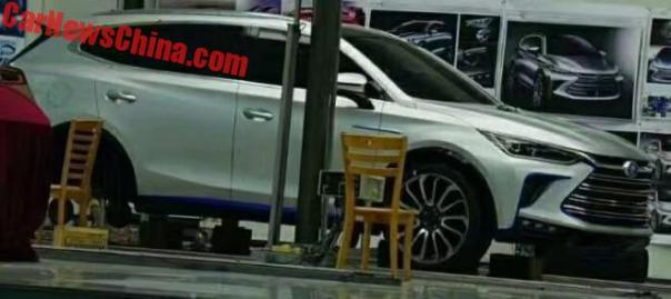 First Photo Of The New BYD Tang SUV For China