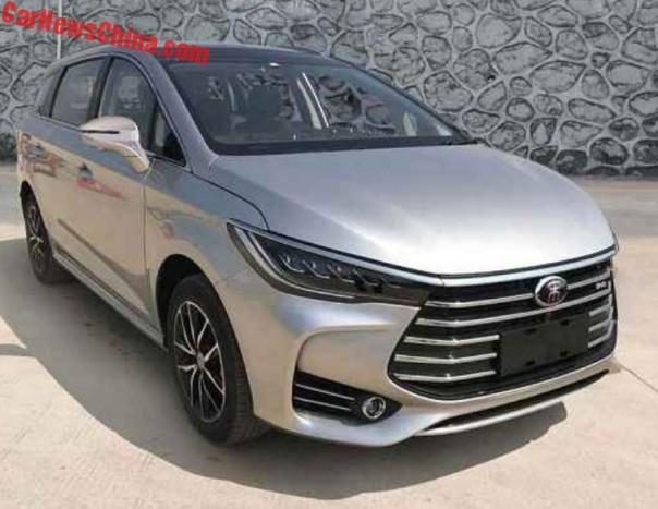 Say Hello To The New BYD M5 Song MPV For China