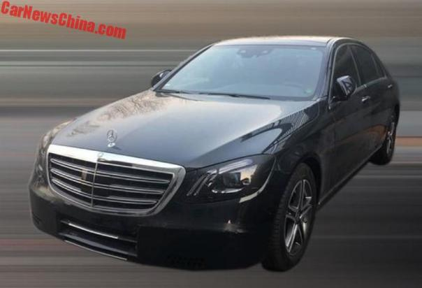 Facelifted Mercedes-Benz S-Class And New Six-in-Line To Debut In Shanghai