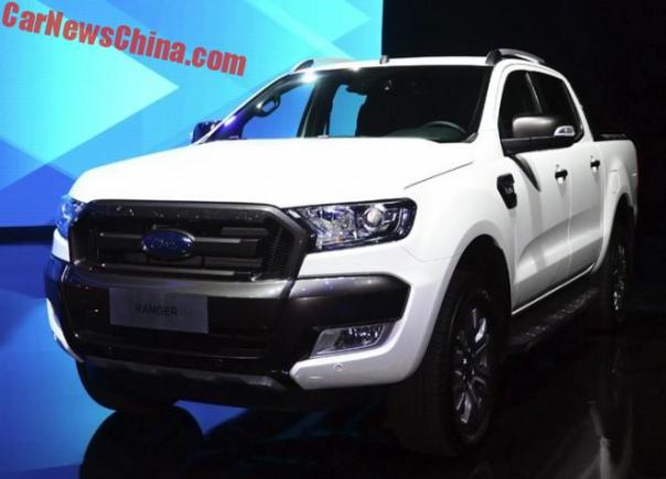 Ford Ranger Pickup Truck To Hit The Chinese Car Market In 2018