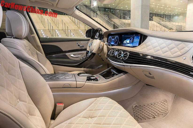 2018 maybach s680. exellent maybach new steering wheel upgraded screens an sound system and  autonomous drive system that is now able to brake automatically for sharp  throughout 2018 maybach s680