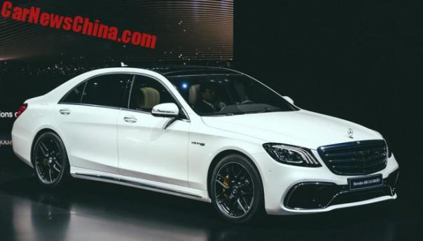 Facelifted Mercedes-Benz S-Class Unveiled In China