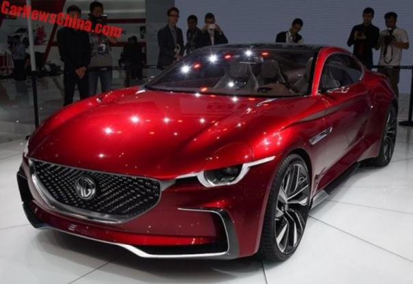 MG E-Motion concept on the 2017 Shanghai Auto Show