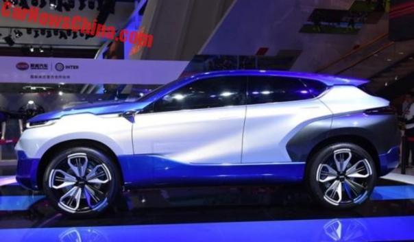 Brilliance Shineray SWM Eroe Electric SUV